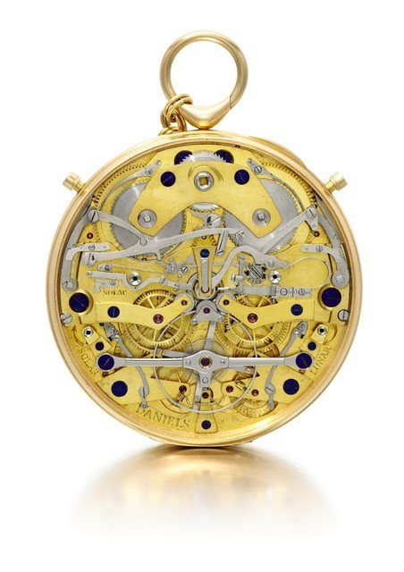 The intricacies in manufacturing this watch are extremely challenging. © Jasper Gough, Sotheby's