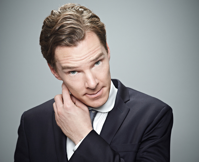 Benedict Cumberbatch reading in Letters Live, Image courtesy of Letters Live