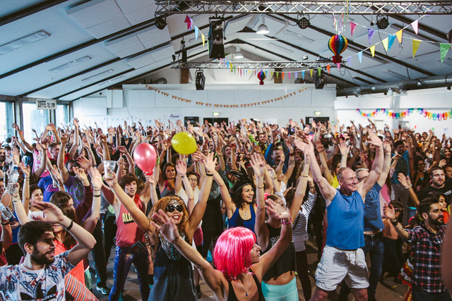 Morning Gloryville, The Oval Space