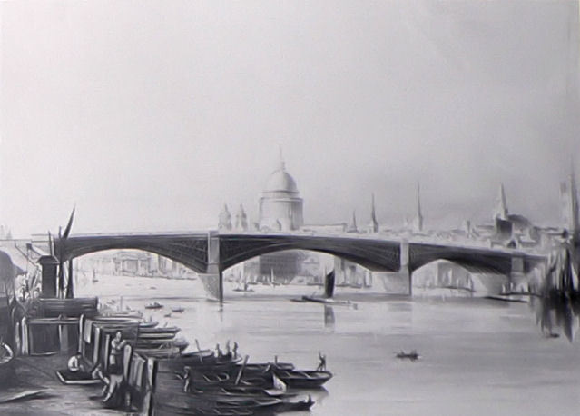 The Day Part Of Southwark Bridge Exploded