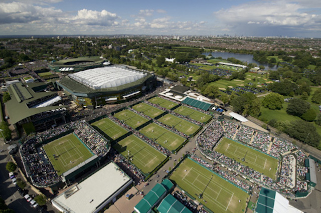 General Views of the All England Lawn Tennis & Croquet Club