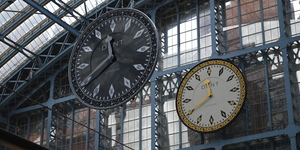 St Pancras International Gets A Sinister New Clock