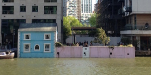 Inside Airbnb's Floating House At Canary Wharf