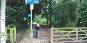 A Beautiful Cycle Route In South London