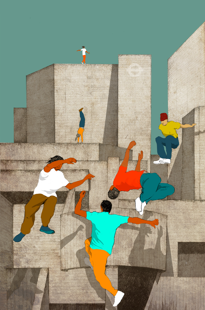 3rd Prize: Eliza Southwood, Parkour At The South-Bank, 1377