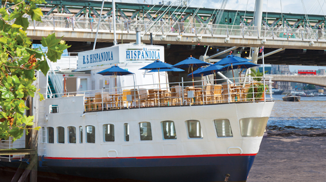 Get treated to an exclusive  afternoon tea on board R.S. Hispaniola