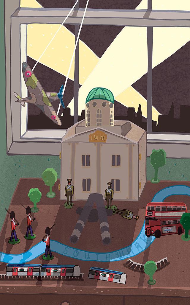 Zoe Nash, Searchlights Over Southwark