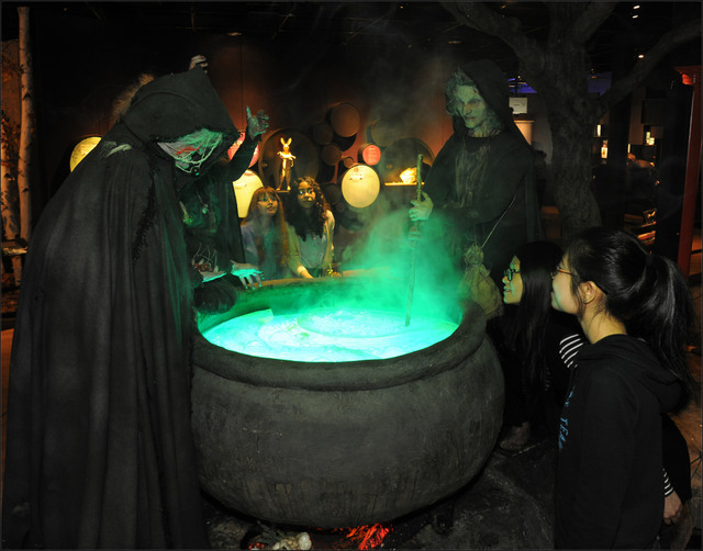 Poisons have been used in literature, in this case by the three witches in Macbeth.