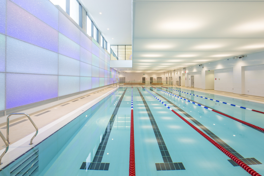 Swimming Pool, Five Pancras Square, King's Cross