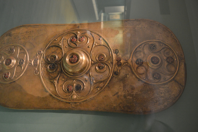 The Battersea Shield was clearly created to impress. It still does today. The ceremonial shield was discovered in the Thames mud below Battersea Bridge in 1857. It's been dated, rather sketchily, to 350BC-50BC, meaning it was cast into the river before London itself existed. See it: Room 50, Britain and Europe.