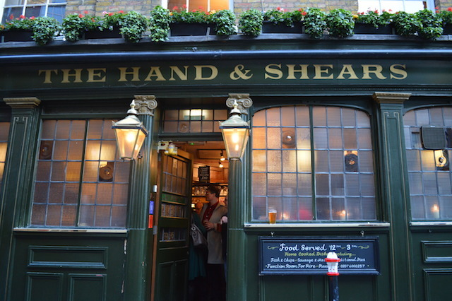 Hand And Shears