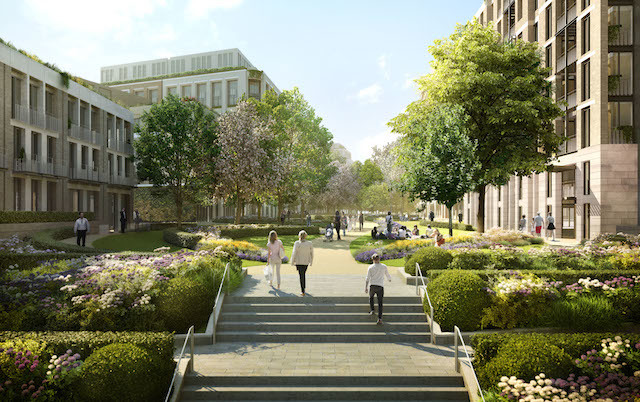 Earls Court Masterplan (due for completion 2030). It hopes to create 7,500 much-needed new homes and 10,000 new jobs for Londoners, based on the concept of 'four villages and a high street'.