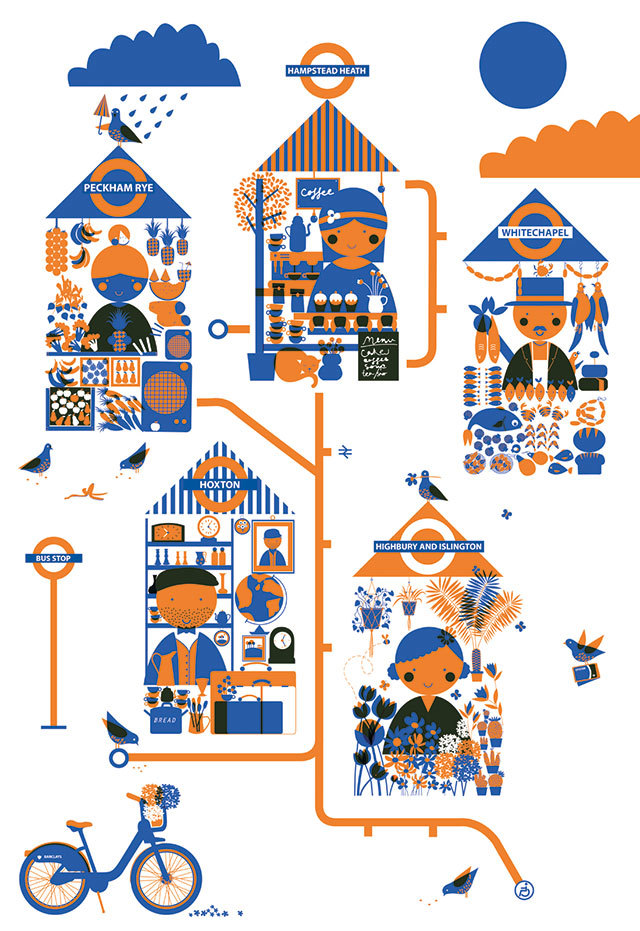 Emma Fisher, London Overground Adventures