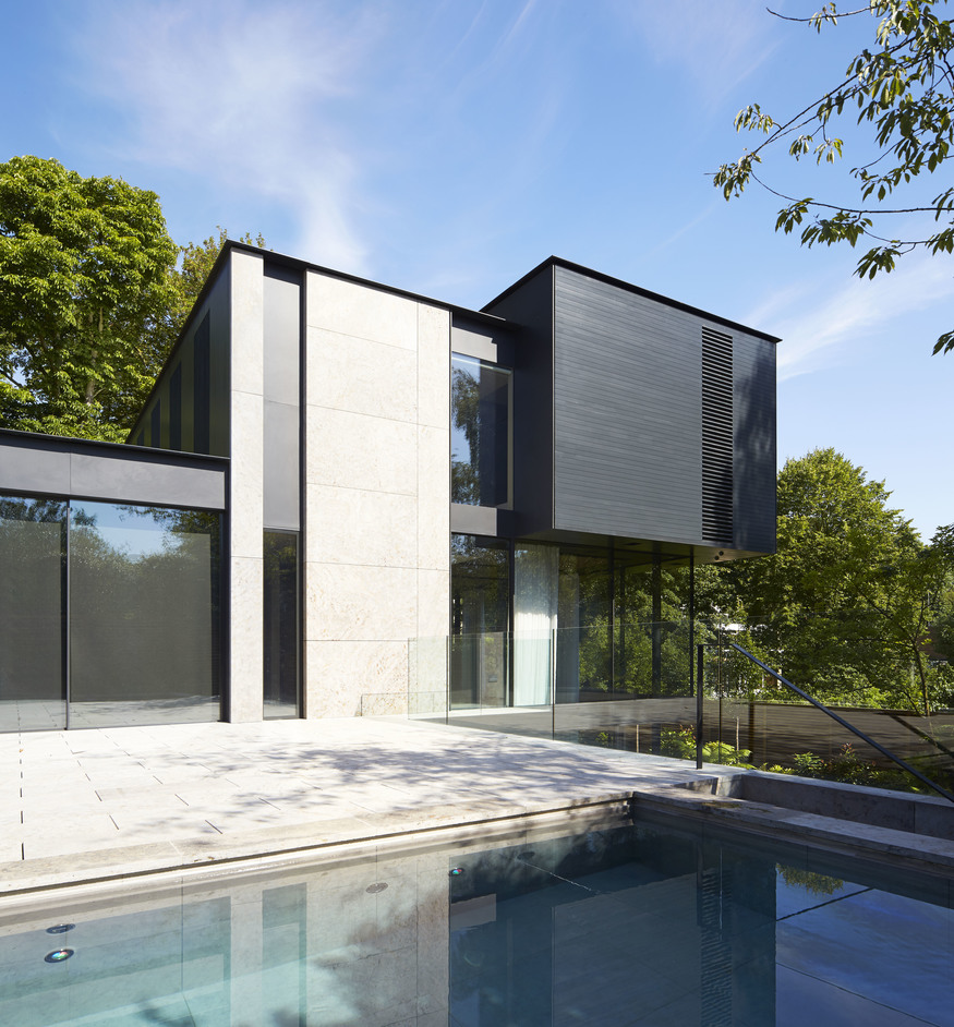 Fitzroy Park House in north London by Stanton Williams