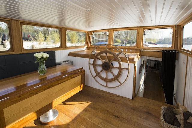 Spend The Night On A London Houseboat