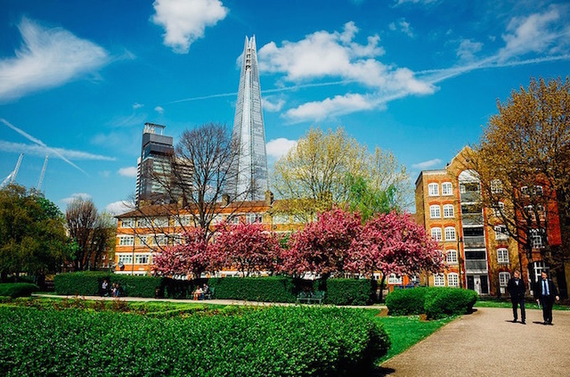 Leathermarket Gardens in Southwark. Photo: Laura McGregor (2014)