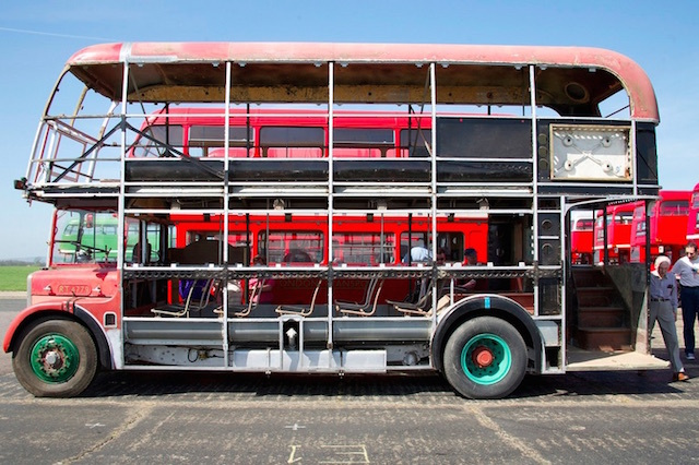 The best air-conditioned bus that London's ever seen. Photo: Liam Doyle (2011)