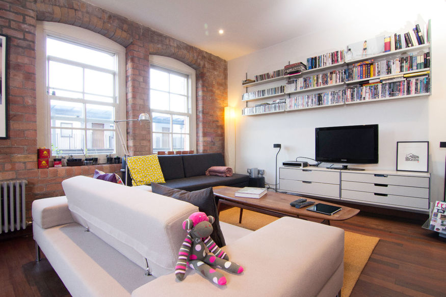 A London Bridge loft with views of Tower Bridge and the Shard. Not too shoddy.