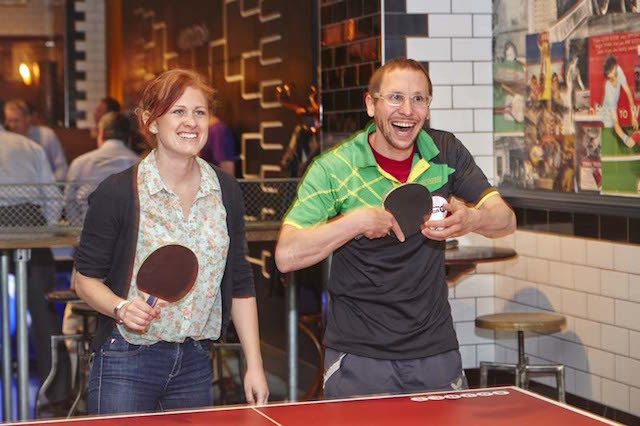 Become a ping pong pro in Holborn