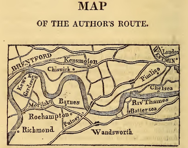 A walk to Battersea's asparagus fields (in 1817)