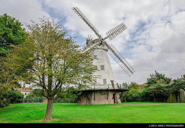 Upminster Windmill. Photo: Mike T (2013)