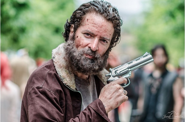 Rick from The Walking Dead by Jordi  Corbilla