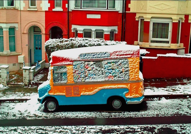 Until now, we've never actually thought about what ice cream vans do in the winter. Photo: shadowjumper (2012)
