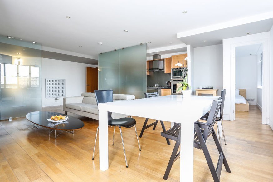 This Shoreditch conversion is slap-bang in the centre of trendy London.