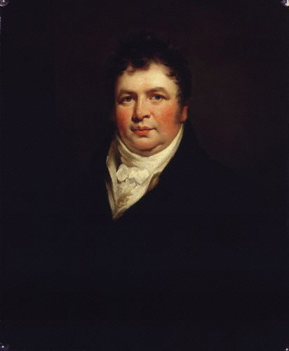 by James Saxon,painting,1806