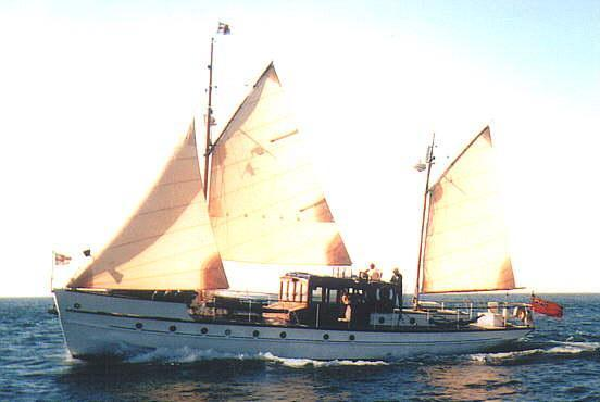 Tahilla, previously called Skylark, launched 1922.