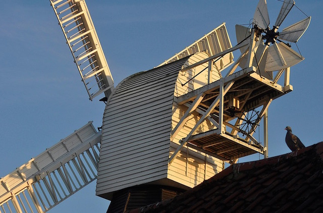 Wimbledon Windmill. Photo: stevekeiretsu (2014)