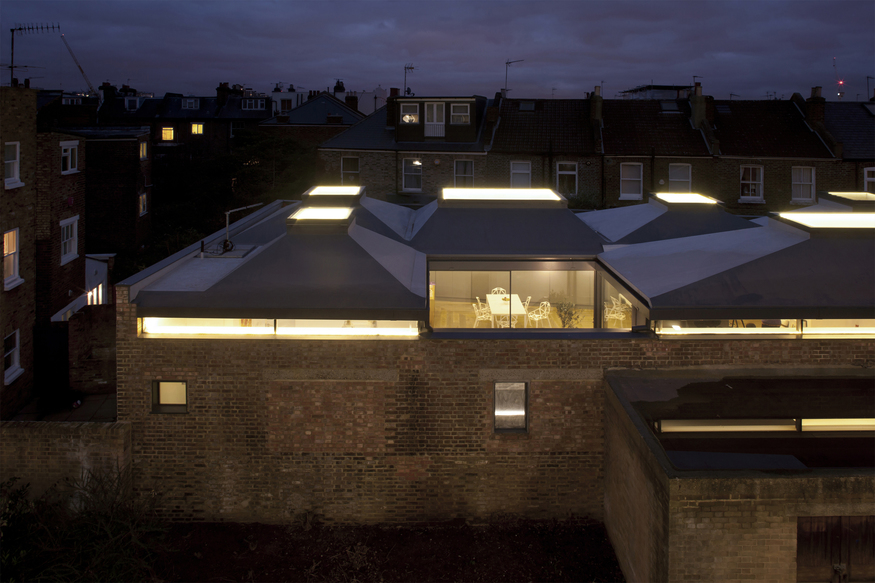 Vaulted House, W6  by vPPR Architects