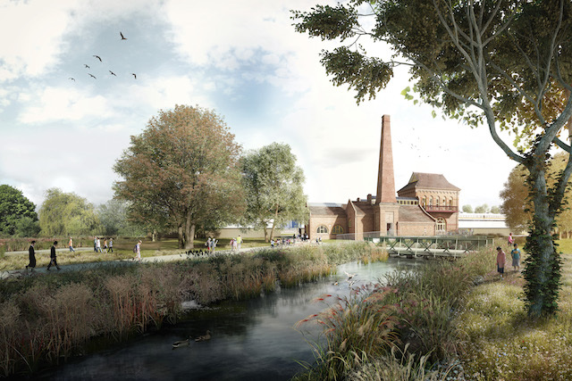 Walthamstow Wetland (due for completion Spring 2017). When it opens it'll be the largest urban wetland nature reserve in London.