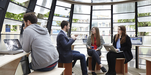 Outdoor Office Opens In Hoxton Square