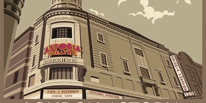 Stylised Prints Of London's Lost Music Venues
