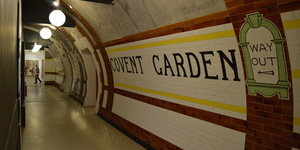 Covent Garden Tube Station... In Shropshire