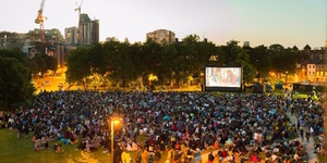 Free Outdoor Film Screenings In Vauxhall Pleasure Gardens
