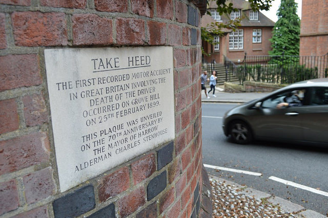 Did You Know Where London's First Motor Crash Took Place?
