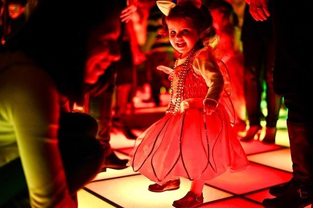 Baby Loves Disco dancefloor
