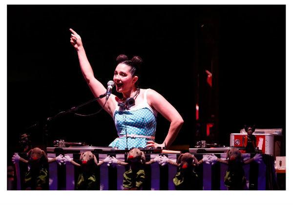 DJ Monski Mouse's Baby Disco Dance Hall at the Adelaide Fringe