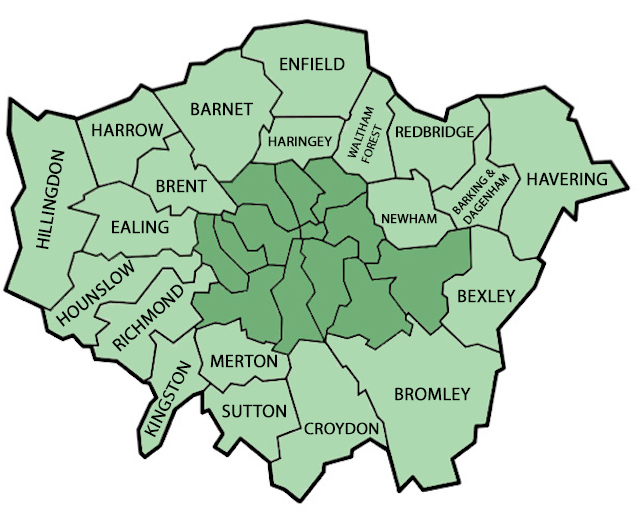 Map Outer London.The Best Pubs In Outer London Londonist