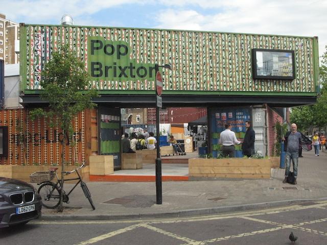 Pop front entrance