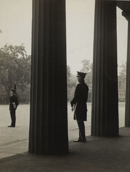 An inspection of the Welsh Guards by their Colonel HRH The Prince of Wales in 1934 © Museum of London