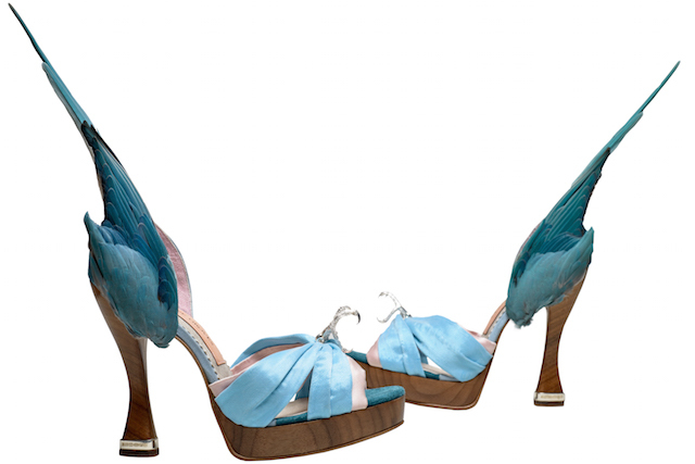 Caroline Groves, Parakeet Shoes. Photography by Dan Lowe
