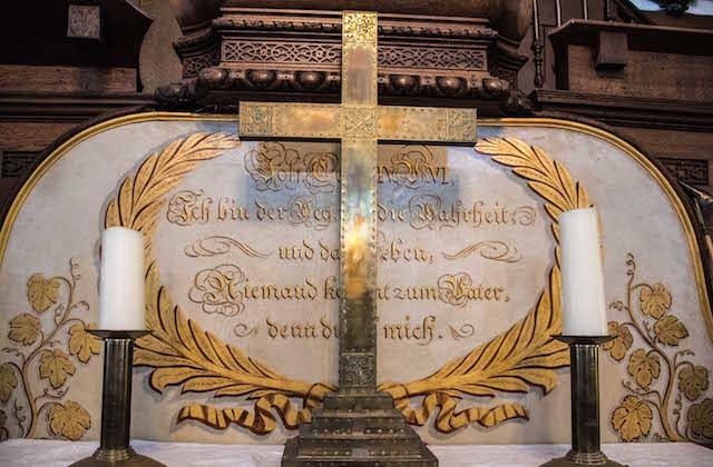 Stavarha Wilson, St George's German Lutheran Church