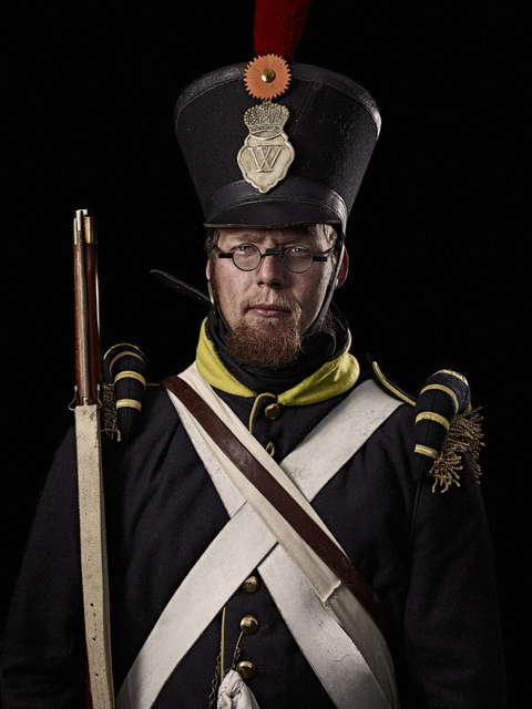 A Dutch infantry grenadier sergeant. © Sam Faulkner