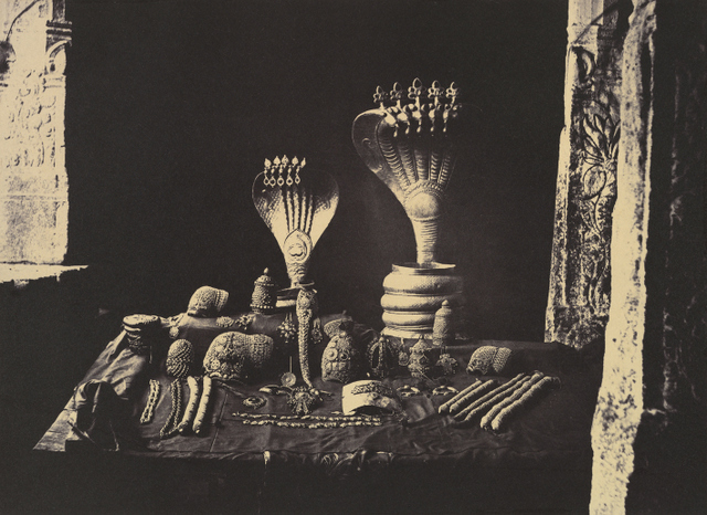 Tripe also photographed artefacts that he found in museums, like these in Madras.  Courtesy The Metropolitan Museum of Art.