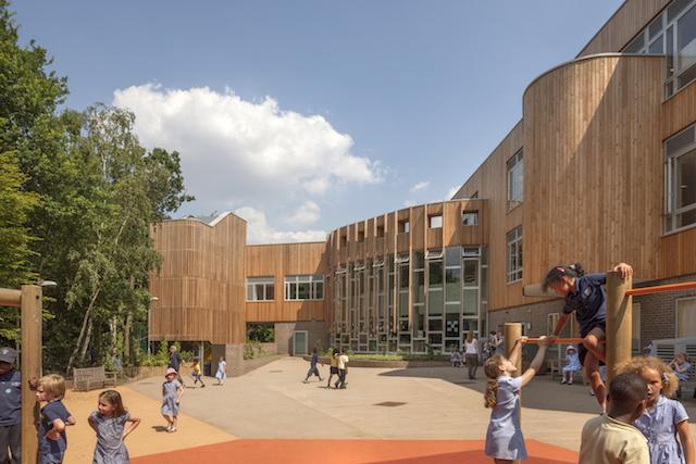Ashmount Primary School in Crouch Hill, North London (c) Morley Von Sternberg