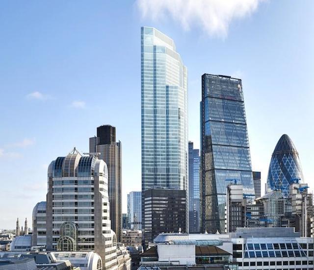 22 Bishopsgate New Images Of City S Tallest Skyscraper