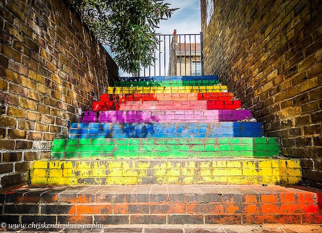 Tow path steps in Camden. Photo: Chris Kench Photography (2014)